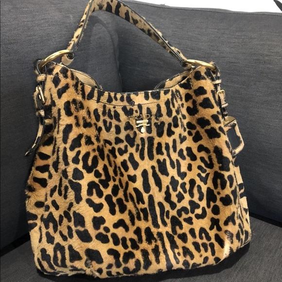 d6b12399f0a3 Euc Prada Cavallino Calf hair leopard print hobo. M 5b9a36d412cd4a44b9ec68d9